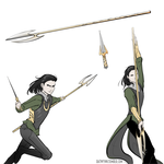 Loki weapons by Batwynn