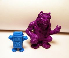 Big Rad Wolf and Radmote! Amusing Mini Paranormals by Meadowknight