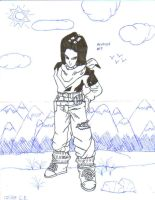 Android 17 by FinalFantasywannabe