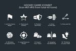hockeygame iconset 01 by Artworkbean by artworkbean