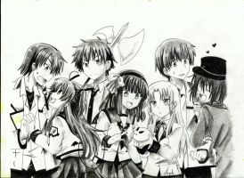 Angel Beats by 8Angie8