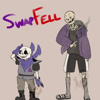 Swapfell - Sans and Papyrus by AlyNaly