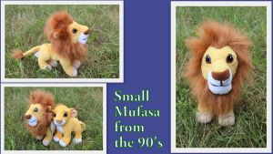 Small Mufasa by Laurel-Lion