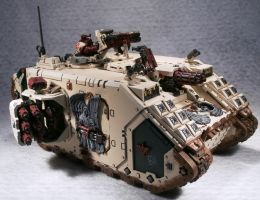 Deathwing Landraider Crusader by Elmo9141