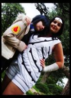 Hinata and Kurenai-friends by MarolaPro