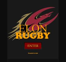 Elon Mens Rugby Enter Page by Kvitne
