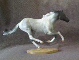 Breyer Smarty Jones CM by eclareee