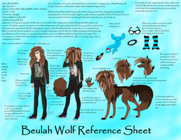 Beulah Wolf Reference Sheet [OLD] by BeulahWolf