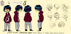 Character 03 Video Boy Extraordinaire by shark-bomb