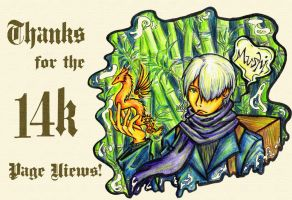 Mushishi: 14k PageViews by ahou