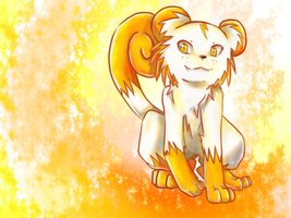 Sparky the Thunder...cat...lion...monkey thing by SarahRichford