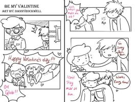 Be My Valintine by Alexandria-Paige