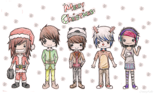 Merry Christmas.. by CheesyPuffz