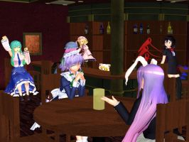Undefined Fantastic Trek: Yukari's Bar by Galactiweirdo