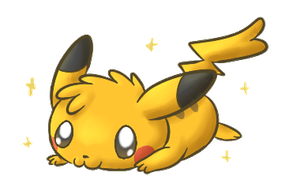 Pikachu Quickie by FuwaKiwi