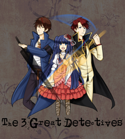 The 3 Detectives by RiekaTear
