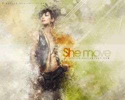 She Move by pincel3d
