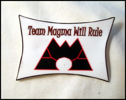 Team Magma Will Rule Pin by Magegirl-Nino