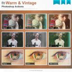 Warm and Vintage Photoshop Actions by Wnison