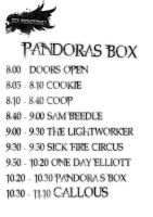 Pandora's Box Stage times by wasted49