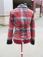 plaid jacket: Back by TheOther-Half
