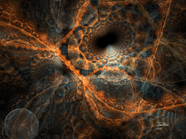 The Black Hole by Fractamonium