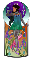 Mucha Style Tin by flickrBLITZshimmer