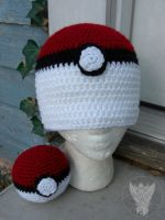 Pokemon Trainer Set by TheCrochetDragon