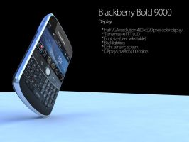 Blackberry Bold 9000 by EnricoMulyadi