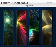 Fractal Pack No.3 by zesk8