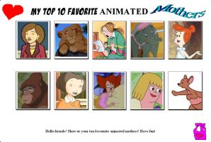 My Top 10 Favorite Mothers 04 by SithVampireMaster27