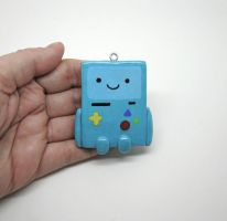Beemo Adventure Time Ornament by egyptianruin