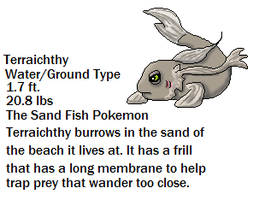 Ground Water Fish Fakemon by Dianamond