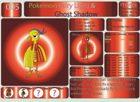 Pokemon Fairy Light and Ghost Shadow ''005'' by AndkeAnka