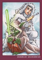 PSC - Yoda and Padme Amidala by aimo