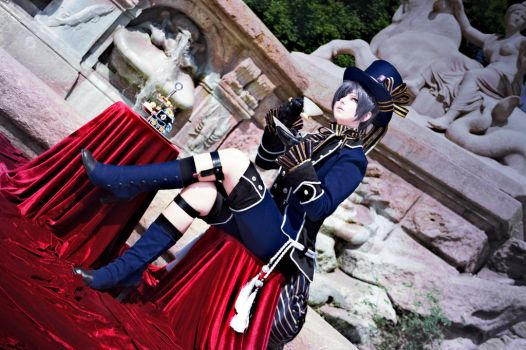 CIEL PHANTOMHIVE - Cosplay - Teatime by Shinkan-Seto