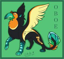 Oboe Griffon by Dragodog3496