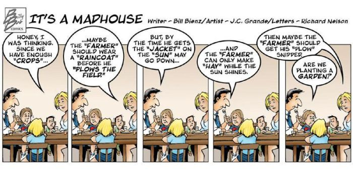 It's A Madhouse strip colored by johnnymorbius