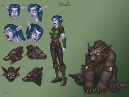 Dea, the bear by DrGraevling