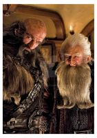 Dwalin and Balin by momofukuu