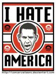 Obama Hates - America by Conservatoons