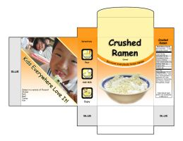 Crushed Ramen Cereal by Yomon