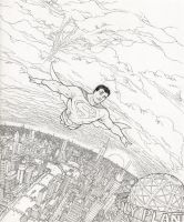 Superman and the City by RyanBodenheim