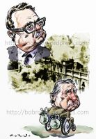 Allende Pinochet by BobRow