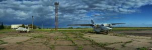 Old Airport by davenevodka