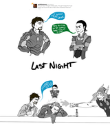 Normal Night for Tony Stark by 4Brightside
