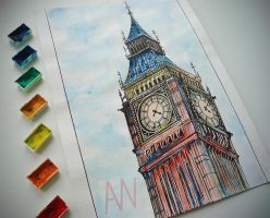 Big Ben (Photo version) by Andrew-Willson