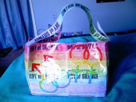 gay pride purse by VampirexPenguin