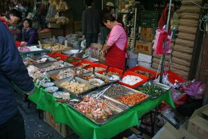 Seafood sold along the street by patchow