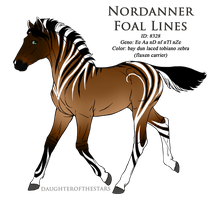 8328 - Nordanner Foal Design by Ikiuni